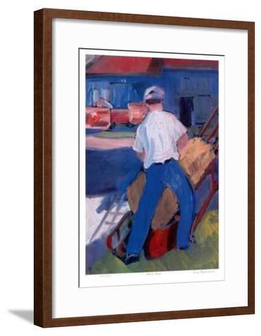Farmwork-Zora Buchanan-Framed Art Print