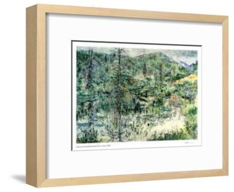 Foothills Beaver Dam-Catherine Perehudoff-Framed Art Print