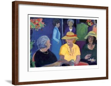 Networking-Zora Buchanan-Framed Art Print