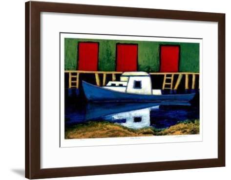 Moose Harbor-Carol Ann Shelton-Framed Art Print