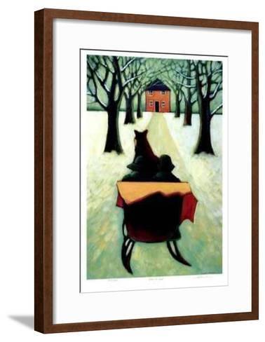 Home at Last-Carol Ann Shelton-Framed Art Print