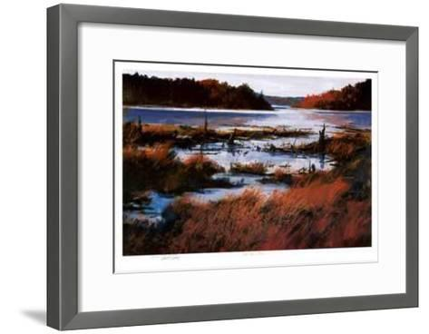 Red Stone Lake-John Joy-Framed Art Print