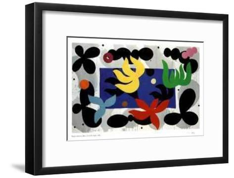 Blues from the Night-Daniel Solomon-Framed Art Print