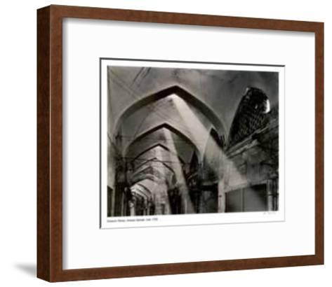 Isfahan Bazaar, Iran-Simeon Posen-Framed Art Print