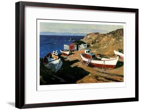 Early Morning - Hobb's Cove-Murray McCheyne Stewart-Framed Art Print