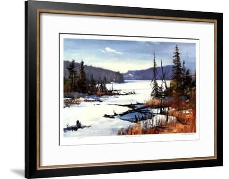 Loon Lake in April-Murray McCheyne Stewart-Framed Art Print