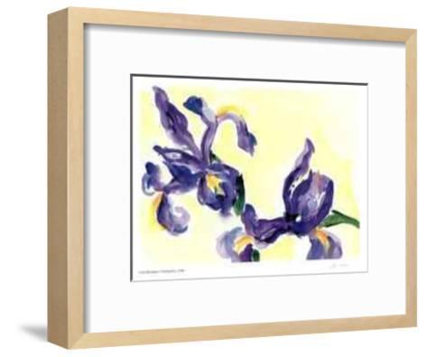 Floating Iris-Lynn Donoghue-Framed Art Print