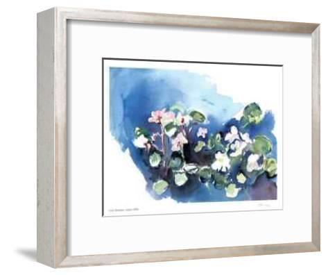 Violets-Lynn Donoghue-Framed Art Print