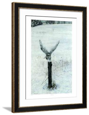 Launched-George Mclean-Framed Art Print
