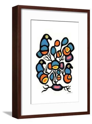 XVI-R. Bedwash-Framed Art Print