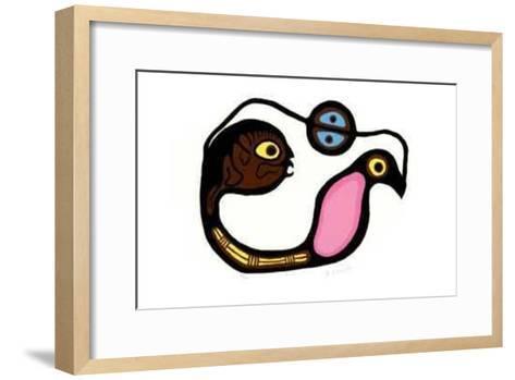 IV-R. Bedwash-Framed Art Print