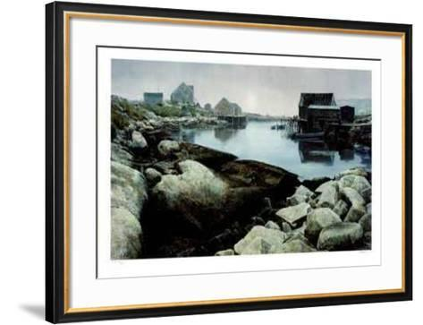 Atlantic Inlet- Wylie-Framed Art Print