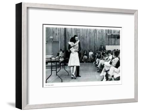 Untitled - Hug-B^ A^ King-Framed Art Print