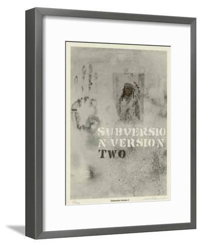 Subversion Version 2-Carl Beam-Framed Art Print