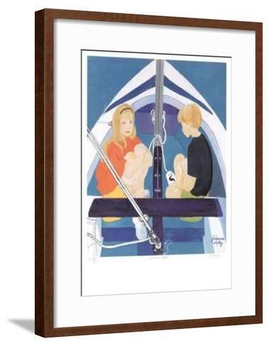 Summer Blue-Johanna Skelly-Framed Art Print