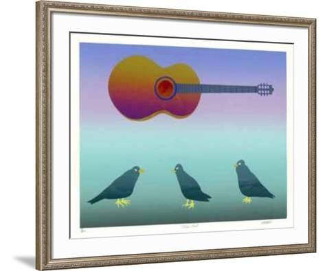 Teacher Bird-Diane Williams-Framed Art Print