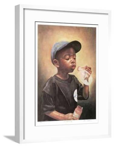 The Bubble Boy-Neville Clarke-Framed Art Print