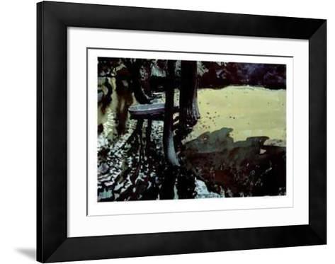 Street Corner-Franklin Arbuckle-Framed Art Print