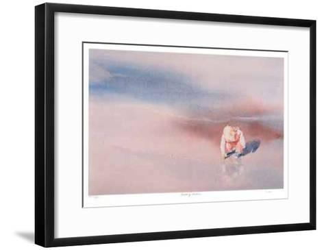 Breaking Bubbles--Framed Art Print