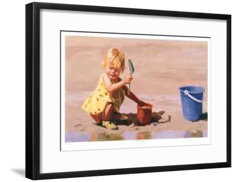 Beached Baby--Framed Art Print