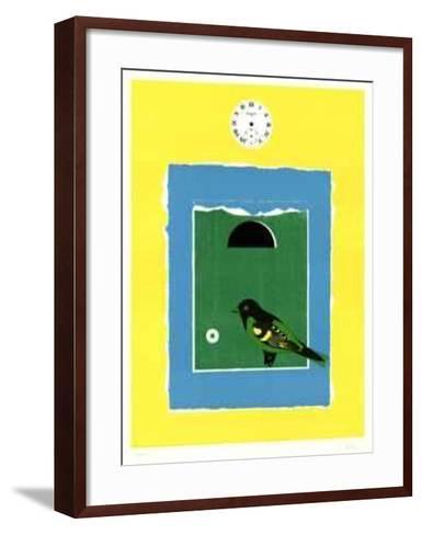 The Blue Door-Ilse Getz-Framed Art Print