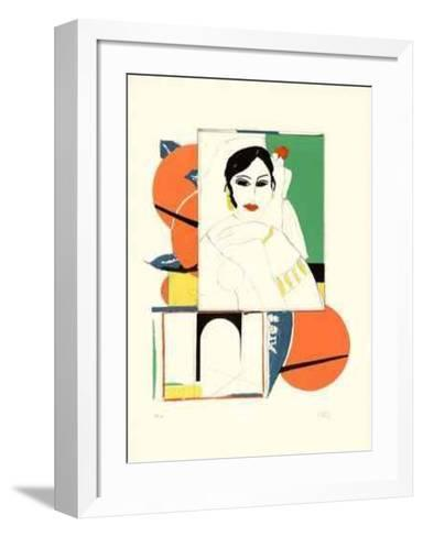 9th Ave. Window-Ilse Getz-Framed Art Print