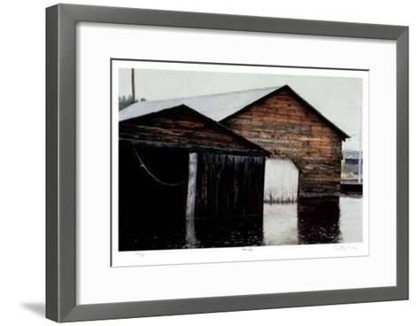 Fish Bay-Robert Pellelt-Framed Art Print
