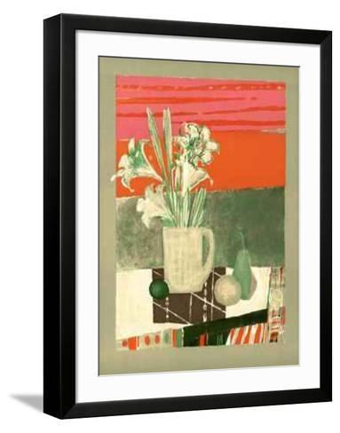 Fleurs de Banquet-Rene Genis-Framed Art Print