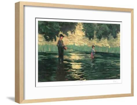 Saturday Afternoon-R. J. Vanderneer-Framed Art Print