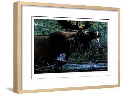Brief Encounter-R. V. Stanley-Framed Art Print