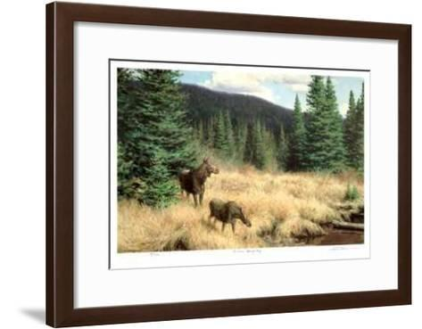 A Fine Spring Day-Claudio D'Angelo-Framed Art Print