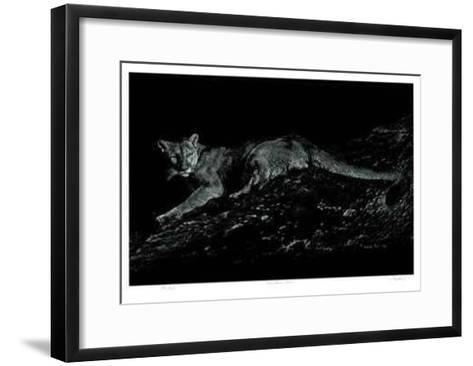 Mountain Lion-Robert Pow-Framed Art Print