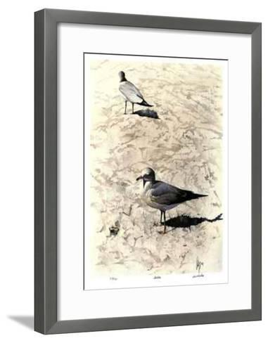 Gulls-Carl Arlen-Framed Art Print