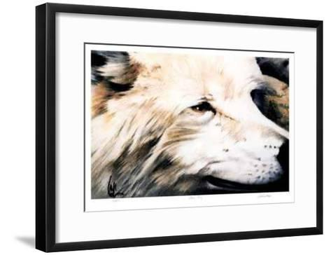 Wary Study-Carl Arlen-Framed Art Print