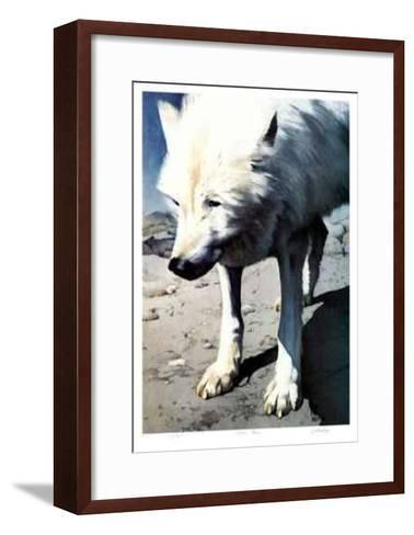 Arctic Prowl-Carl Arlen-Framed Art Print