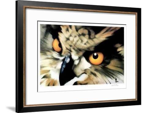 Great Horned-Carl Arlen-Framed Art Print