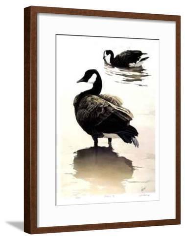 Fluffing Up-Carl Arlen-Framed Art Print