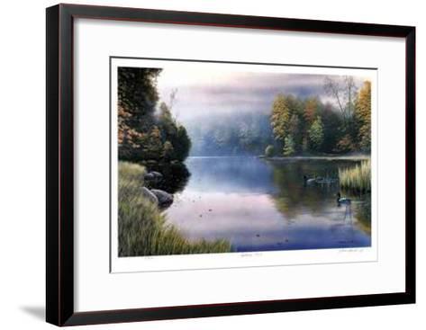 Autumn Mist-J. Vanderbrink-Framed Art Print