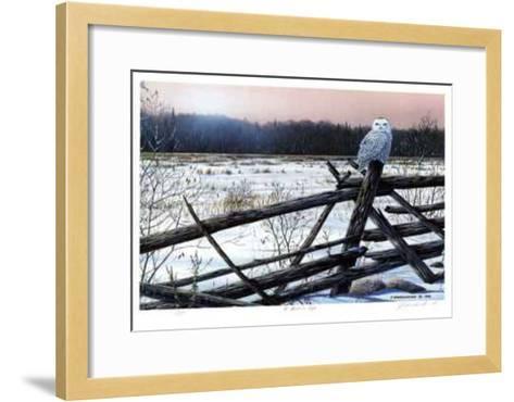 A Winter's Light-J. Vanderbrink-Framed Art Print