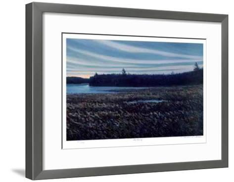 Blue Morning-Norman R. Brown-Framed Art Print