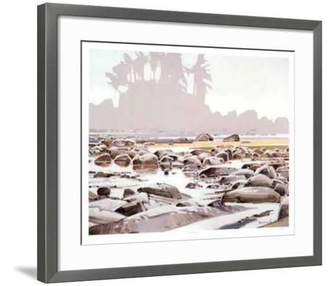 Dare Beach-Robert Genn-Framed Art Print