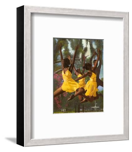 Jumping For Joy-Gregory Myrick-Framed Art Print