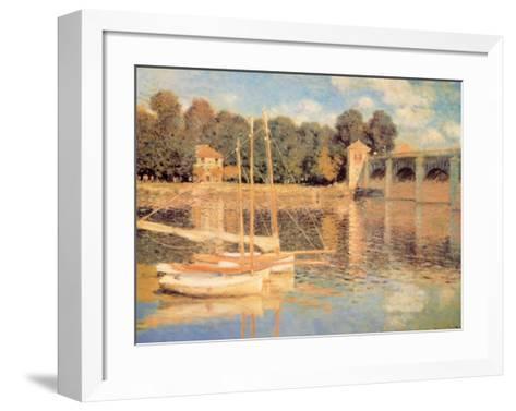 Il Pont d'Argenteuil-Claude Monet-Framed Art Print