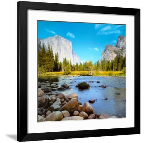 Yosemite National Park, USA-John Lawrence-Framed Art Print
