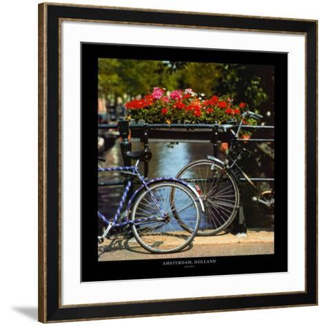 Amsterdam, Holland-Stuart Black-Framed Art Print