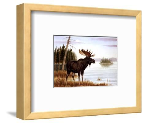 The Mighty Moose-Ron Jenkins-Framed Art Print