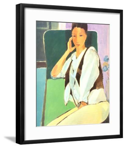 In Conversation-Mortimer Robinson-Framed Art Print