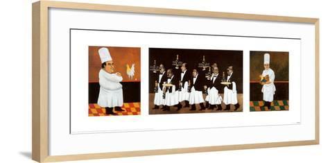 Restaurant des Capucines-Guy Buffet-Framed Art Print