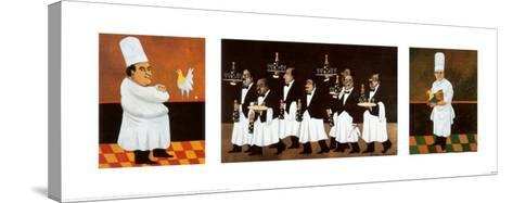 Restaurant des Capucines-Guy Buffet-Stretched Canvas Print
