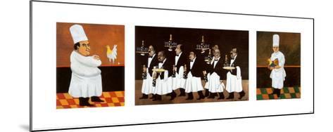 Restaurant des Capucines-Guy Buffet-Mounted Art Print